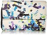 Desigual Wallet Confetti Alba Women, Portefeuilles femme, Noir (Negro), 3x10.5x14 cm...