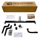 Westfalia Starre Anhängerkupplung für Duster 1 und 2 (BJ ab 03/10) im Set mit 13-poligem fahrzeugspezifischen Elektrosatz