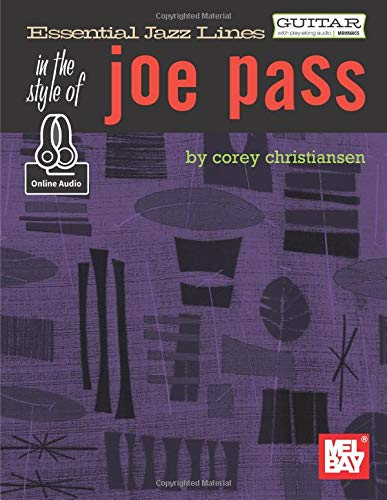 Essential Jazz Lines in the Style of Joe Pass-Guitar