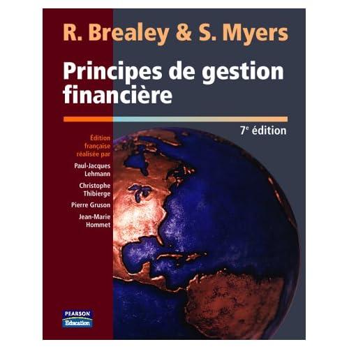 PRINCIPES DE GESTION FINANCIERE