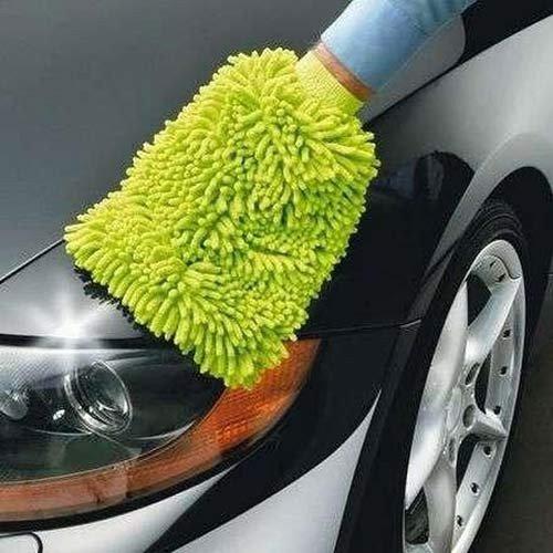 3x Mikrofaserschwamm Autowaschhandschuh Reinigungsschwamm Microfaser Schwamm
