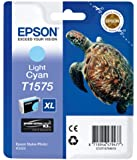 Epson T1575 Cartouche d'encre d'origine Cyan Clair