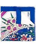 Fendi Damen Fxt069oaaf06tq Multicolour Baumwolle Schal