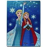 TW24 Disney Spielteppich - Kinderteppich - Teppich - Läufer 133x95cm mit Motivauswahl (Frozen Lights)