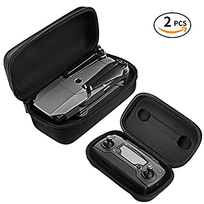 DJI Mavic Pro Tasche Case, Infreecs Portable Tragetasche Hülle Hartschalen Koffer für DJI Mavic Pro Drohne und Fernbedienung von INFREECS