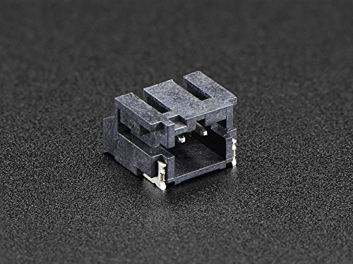 Adafruit JST-PH 2-Pin SMT Right Angle Connector [ADA1769] (Connector Pin Right Angle)