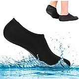 Chaussettes Basses Coupées pour Nageoire Sous-Marine avec Tuba, Chaussures Extra-Plates, Chaussures Confortables pour la Natation Volley-Ball de Plage Voile Surf