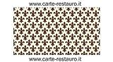 Madiant Tech snc di Gusmini Alessio & C. Florentiner Lilienpapier, Format 70x100 cm - Farbe: Braun - (Preis pro Packung à 50 Stück)