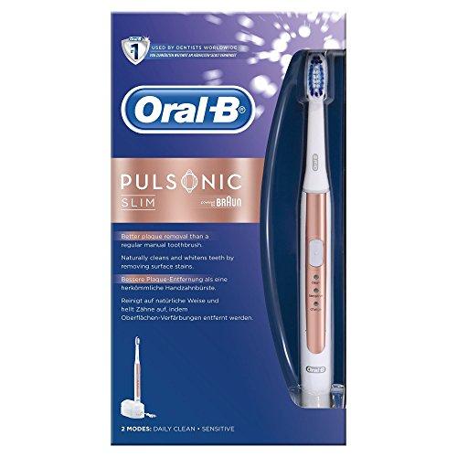 Oral-B Pulsonic Slim Schallzahnbürste, Rose Gold, Standard