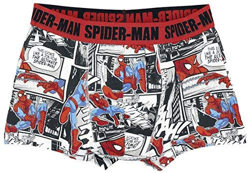 Spider-Man 'Comic Style' for Männer in estampado made of 95% algodón, 5% elastán. Officially licensed product.