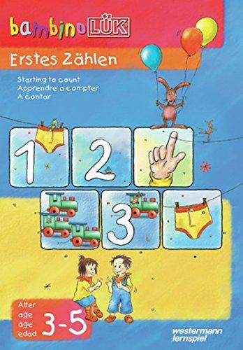 bambinoLÜK-Übungshefte / Vorschule: bambinoLÜK: 3/4/5 Jahre: Erstes Zählen