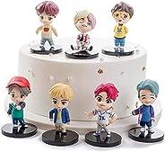 مجموعة ألعاب بي تي إس الغنائي الكوري مكونة من 7 قطع من شخصيات فريق بي تي إس الغنائي الكوري.