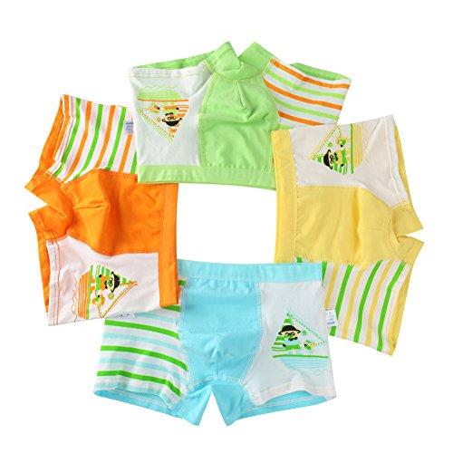 USex Sense 12er Pack Kinder Jungen Boxershorts Baumwolle Unterhosen S(1-3 Jahre), Mixed 1628