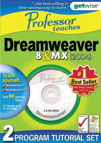 Greenstreet Professor Teaches: Dreamweaver 8 & MX Training Suite (PC) Test