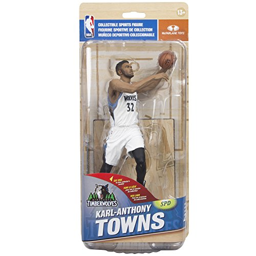 Image of McFarlane Toys NBA Series 29 Karl-Anthony Towns Minnesota Timberwolves Collectible Action Figure