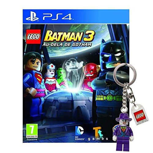 Lego Batman 3 Au Dela de Gotham Jeu PS4+Porte-clé (Für 4 The Club Playstation Golf)