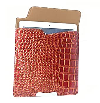 """Universal 7"""" 7.7"""" 8 7 Inch 8 Inch Tablet Pc Mid Red Crocodile Faux Leather SkinSleeve Case For Asus Fonepad, Asus Fonepad Lte Me372cl Tablet, Asus Me170c 7"""" Tablet Pc, Asus Me170c-1a019a 18gb A4.3,asus Memo Me176cx Tablet Pc,asus Memo Pad (Me172v), 7"""" Tablet, 16gb, Wifi, Asus Memo Pad 7 (Me70c), 7"""" Tablet, 8gb, Wifi,asus Memo Pad 7"""" Tablet, Asus Memo Pad 8 Inch ,Tablet, Asus Memo Pad 8"""" Tablet - 16 Gb,asus Memo Pad Hd 7,asus Memopad Me173x Tablet Pc,asus Nexus 7 (2013) 1"""