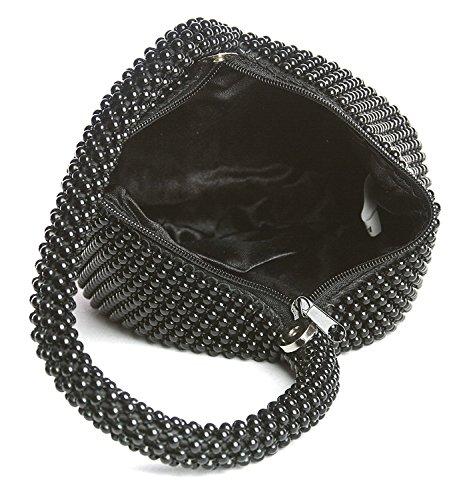 SSMK Party Eveing Bags, Poschette giorno donna Black