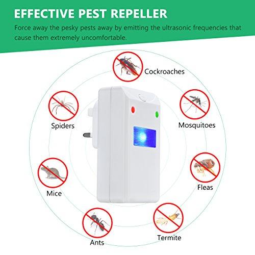 (4-pack) TopElek Pest Control Ul...