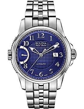 Bulova Herren-Armbanduhr Analog Automatik Edelstahl 63B175