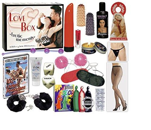 Love Box - Das 16-teilige Paket für aufregende Sex-Nächte der Superlative