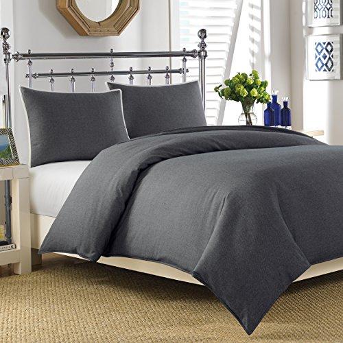 Nautica Longitude Bettwäsche-Set für Doppelbett, einfarbig, Marineblau - Lauren-cover-set Ralph