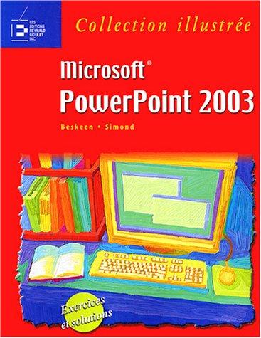 Microsoft PowerPoint 2003 par Michèle Simond, David Beskeen