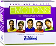 STAGES LEARNING MATERIS SLM003 Language Builder Emotion Picture Expressions, Conversación y Situación Tarjetas