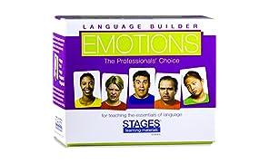 Stages Learning Materials SLM003Language Builder Emotion Immagine espressioni, Conversazione, e Situazione Photo Cards per autismo Education, ABA Terapia