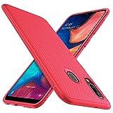 iBetter for Samsung Galaxy A20e Case, Premium Soft Rubber