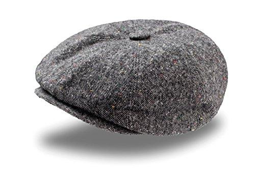 Preisvergleich Produktbild Dandy Coppola Gatsby Filz-Wolle Mütze Coppola Chapeaux Hute Keyone (grau)