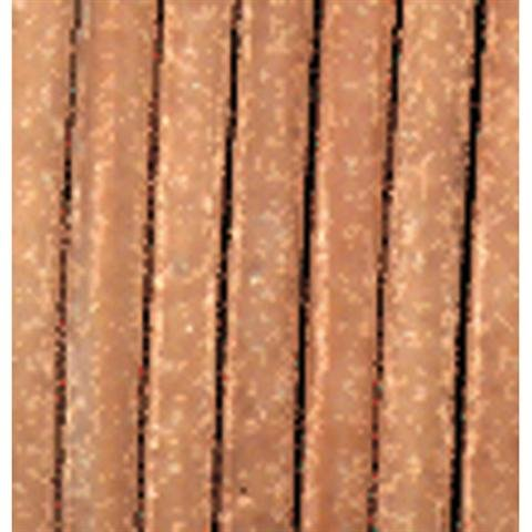 Efco - Lederriemen ø 1,5 mm 25 m natur Verkaufseinheit = 1 Stueck (Indianer-perlen-streifen)