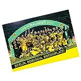 Borussia Dortmund Plakat / Poster DFB-Pokalsieger 2017 BVB 09 - plus gratis Aufkleber forever Dortmund