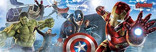 Avengers-War-von-Ultrn-Set-3-Poster-Skyline-158-x-53-cm-3