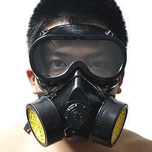 Rrimin 52726 Paint Respirator Mask Goggles Black Amazon