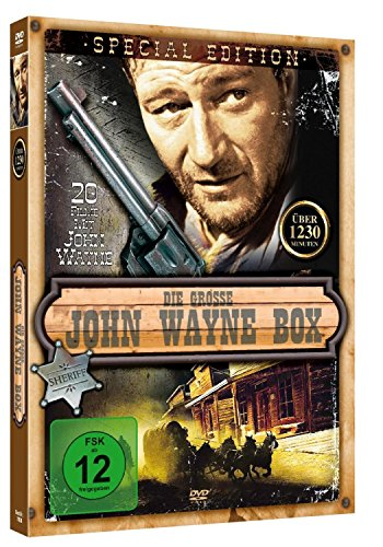 John Wayne Mega Box - 20 Filme auf 4 DVDs (Filme Dvd, Western Auf)