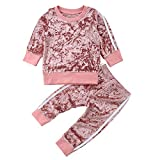 Best Outfit Sets For Girls - Toddler Baby Girls 2pcs Outfit Set Long Sleeve Review
