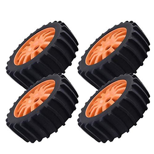 4 stücke Schnee Sand Paddel Reifen Reifen Rad für 1/8 RC Buggy Off Road, HSP HPI Baja (Und Paddel-reifen Felgen)