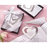 Babies Bloom Silver Heart Shaped Bookmark ( Set of 2)