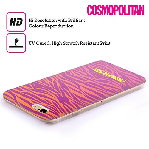 Official Cosmopolitan Teal Cheetah Animal Skin Patterns Soft Gel Case for Apple iPhone X Ombre Zebra