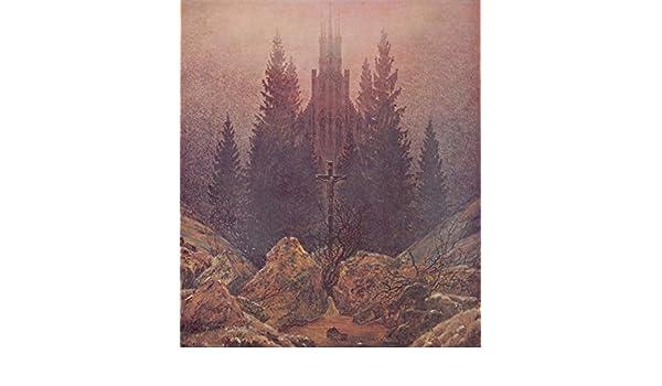 La Croce In Montagna Di Caspar David Friedrich 100 Dipinto A Mano