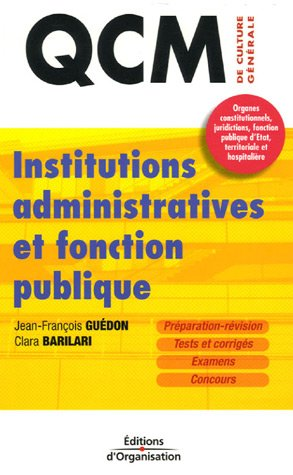 Institutions administratives et fonction publique