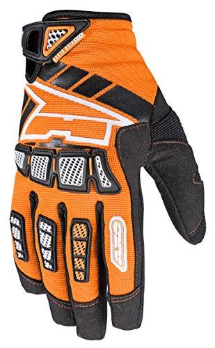 AXO MX4T0032O00M Guanto Whip Jr, Arancione/Nero, M
