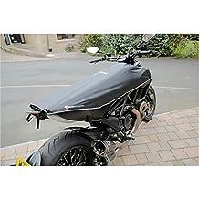 Ducati Diavel funda para viajes para moto motocicleta funda para viajes (negro/plata)