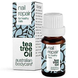 Australian Bodycare Nail Repair - Nagelpflege mit natürlichem Teebaumöl für rissige, raue, spröde sowie gespaltene Fußnägel und Fingernägel, die von Nagelpilz befallen sind. Mit Pinselapplikator.