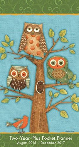 Owls by Debbie Mumm 2016 Checkbook/2 year pocket planner Calendar by Debbie Mumm (2015-06-15) - Mumm Debbie 2015 Kalender