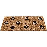 The Garden & Home 82490 - Felpudo, diseño de huellas de gato