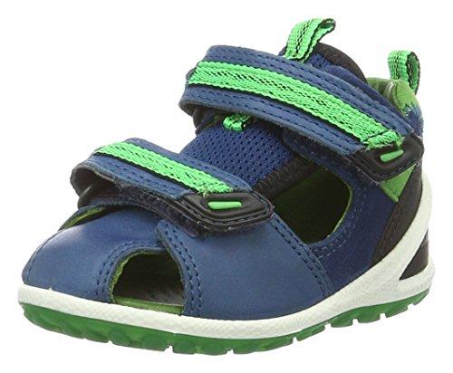 Ecco Baby Jungen Lite Infants Sandal Lauflernschuhe, Blau (50219poseidon/Meadow), 25 EU