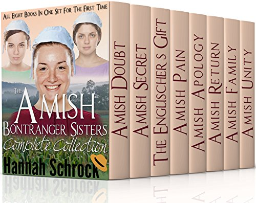 Amish Bontrager Sisters Complete Collection Eight Books In One Box Set For The First Time