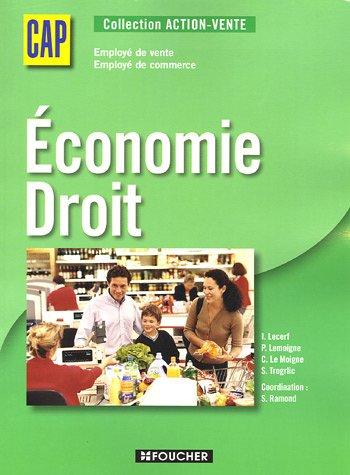 ECONOMIE-DROIT CAP (Ancienne édition)